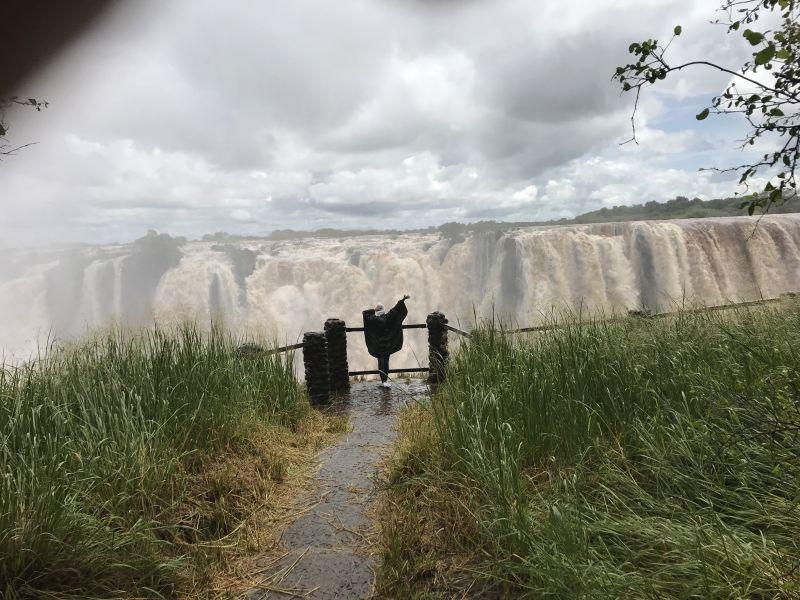 ferntouristik unterwegs nach Sambia – Naturschauspiel Victoriafälle